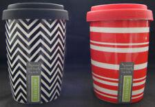 Striped Ceramic Mugs