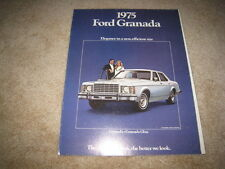 1975 Ford Granada Ghia sales brochure dealer catalog literature