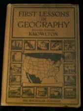 1931 Macmillan Elementary Text FIRST LESSONS IN GEOGRAPHY illustrated Photos