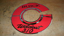 1964 1965 1966 BUICK WILDCAT 310 ENGINE AIR CLEANER DECAL STICKER NEW 7 INCH