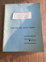 DC Power Supply Series HVR Model 6521A Operating and Service Manual HP