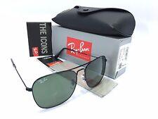 Ray Ban RB3136 002 Caravan Black Frame/Crystal Green 58mm Sunglasses
