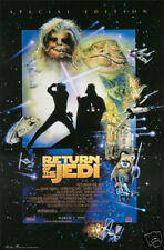 #1654 Star Wars Return of the Jedi Movie Poster 22x34 inches