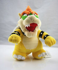 "Super Mario Stuffed Animal Plush Doll - 10"" Standing King Bowser Koopa Hot Gift"