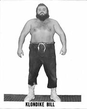 Klondike Bill Original Vintage 8x10 Photo WWE NWA WCW 1960-70 Stampede Wrestling