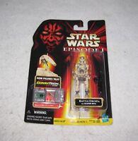 Star Wars Battle Droid Action Figure Episode 1 Hasbro 1998 MOC