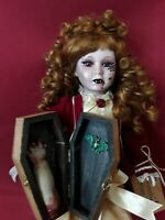 Sinisterly Sissy's 'Tierra' Undead,Spooky,Creepy,Haunted,Gothic,Vampire,18 inch