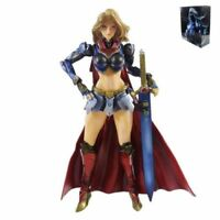 VARIANT PLAY ARTS KAI NO.7 SUPERGIRL DC COMICS PVC COLLECTION ACTION FIGURES TOY
