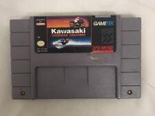 SNES Kawasaki Caribbean challenge 100% authentic