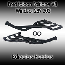 Ford Falcon (XR XT XW WY) Fairlane (ZA ZB ZC ZD) V8 Windsor 289/302ci Extractors