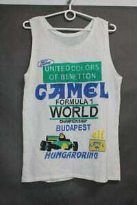 Vintage 94 Hungaroring Grand Prix Benneton - Ford Schumacher Mesh Shirt size M