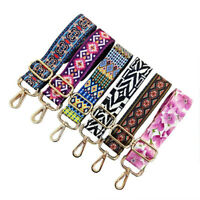 Women Nylon Colored Shoulder Bag Chain Replacement Strap Adjustable Handbag Belt
