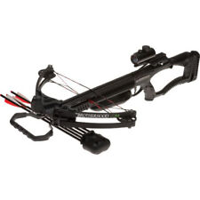 Barnett Brotherhood Compound Crossbow Package with Red Dot Scope - Black *78619*