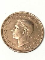 George VI Half Penny 1943 Great Britain Coin