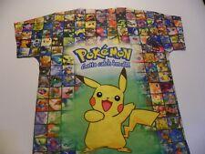 Vintage Pokemon Gotta catch 'em all! T-shirt Rash Type No Tags
