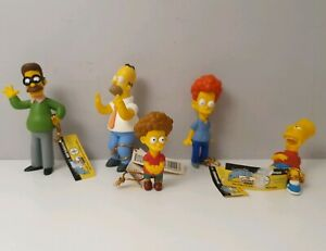 The Simpsons Toy Figures Limited Edition Evergreen Terrace Series 1 with Tags