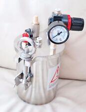 Dispensing Valve Pressurized Fluid Reservoir Tank Loctite EFD Nordson