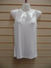 LADIES TOP WHITE SIZE 14 TOGETHER CAMI VEST STRAPPY SUMMER BNWT