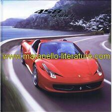 (4122) Catalogue 2011 Ferrari 458 Spider 4056/11