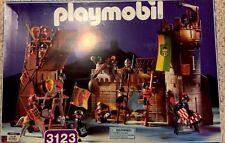 Playmobil 3123 Knights Castle Siege Wall Brand New Set