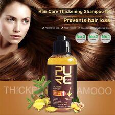 100ml Herbal Ginger Hair Shampoo Essence Treatment for Hair Loss Help Regrowth