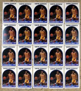 Magic Johnson 1989 NBA Hoops #270 Los Angeles Lakers 20ct Card Lot