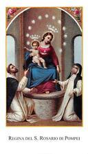 """Pensiero immagine immagine sacro preghiera Immagine Holy card """"h3932"""" S. Regina del Rosario"""