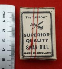 Rare Box of 24 'The Arrow Swan Bill Hooks' (No.4) Vintage haberdashery!