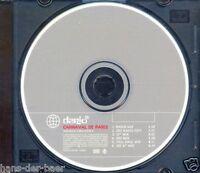 Dario G - Carnaval De Paris ♫ 6-Track Maxi-Single-CD 1998 ♫ CD FAST WIE NEU ♫