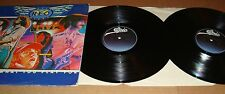 R.E.O. REO Speedwagon Live You Get What You Play For 2 Vinyl LP Set Epic Records
