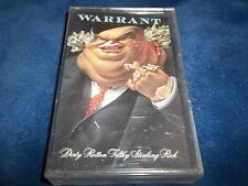 1988 CASSETTE BY WARRANT-DIRTY ROTTEN FILTHY STINKING RICH -EX. CON-AS NEW