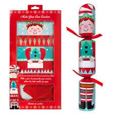 RSW 6 Pack Make your Own Christmas Cracker Kit - Elf