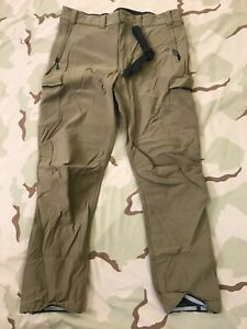 PCU by Beyond Clothing Cold Fusion Shock Pants coyote SoftShell Trousers Used
