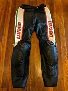 Dainese Ducati Women's Track Street Armored Motorcycle Pants - Euro 44