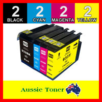 8x Ink Cartridges For HP 932 933 XL Officejet 6700 6100 6600 7610 7612 7110 7512