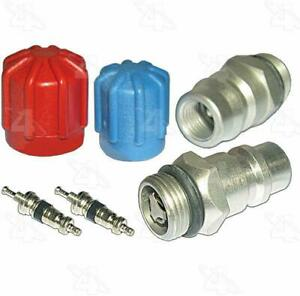New Four Seasons A/C System Valve Core and Cap Kit AC Air Condition HVAC, 26778