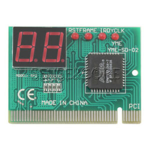 PC PCI Diagnostic Card Motherboard Tester Analyzer Post 2-Digit for PC LAPTOP