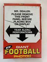 1980 Topps Giant Football Photos Box