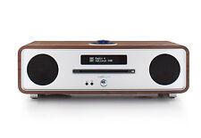 Ruark R4MK3-Radio DAB + nogal con reproductor de CD y Bluetooth En Nogal