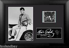 Film Cell Genuine 35mm Framed & Matted Elvis Presley S33 Race Car USFC5704