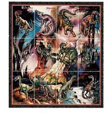 Guyana 1996 - Dinosaurs Sheetlet of 12 Stamps - MNH
