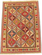 Grana fine Kelim Kilim Azerbaijan 142 x 103 cm Nomadi Persiano-Tappeto
