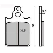 225100160 RMS pastillas de freno delantero LMLEstrella Deluxe 125 (2T/Desc