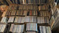 """JOB LOT VINYL LPs RECORDS ALBUMS X 20 12"""" MIXED GENRE & ERA RANDOM MIX BUNDLE"""