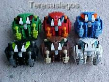 Lego Bionicle Bohrok Figures 8560 - 8565 Assembled no Krana no instructions