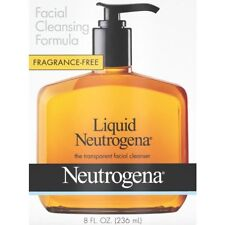 Neutrogena Fragrance-Free Facial Cleanser Hypoallergenic Oil-Free 8oz, 1 Pack