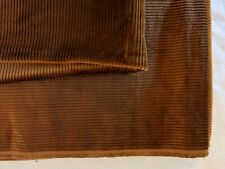 New listing New Cinnamon Wide Wale Corduroy Fabric ~ just over 2 yards