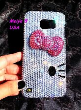bling sparly 3D bow hello kitty crystals diamond Samsung Galaxy S8 case grlitter