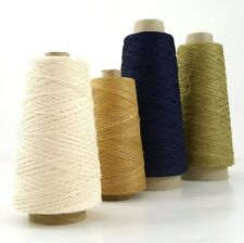 Strong Fine Pure Natural Linen Thread, Undyed Yarn,Weaving, Bookbinding 90g 590m