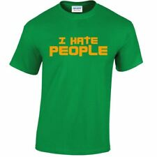 I Hate People Anti Social Unisex Cool Men Ladies Funny People Person Gift Tshirt